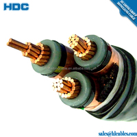 hot sell indoor industrial insulated high voltage coaxial wire cable