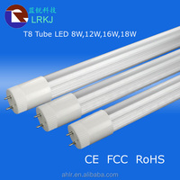 Hot New Products Non Isolation Led Tube Driver PC Cover Led Light Tube T8