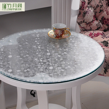 Competitive Price SGS Oem Professional Anti-hot Dining Creative Decorative Film Waterproof Clear Pvc Plastic Round Table Cover