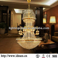 French chandelier crystal pendant lamp