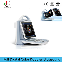 LCDCU12 portable cow goat veterinary ultrasound machine with doppler color