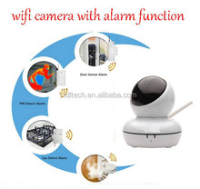 FDL-WF8 Built-in Motion Alarm Whistle Wifi P2P Wireless IP Network Camera With 32G TF Memory Card Recorder