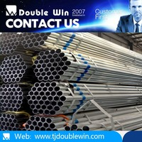 Hot sales hot dipped galvanized welded round steel pipe/1/2""