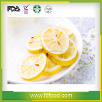 Wholesale Price For Healthy Freeze Dried Fruit Freeze Dried Lemon