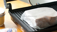 paper made of vigrin wood pulp different colors greaseproof paper for fast food