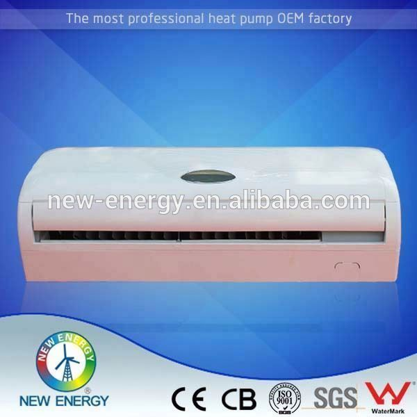 fan coil chiller heat pump solar hybrid wind powered air pump