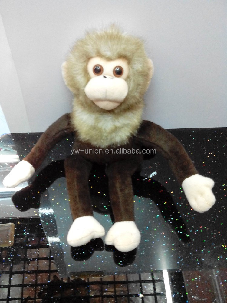 plush moving monkey toy with sound, soft stuffed plush monkey toy ,soft cute plush toy shrimp plush toy