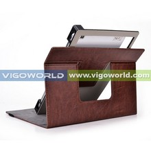 Stand leather universal tablets cases for 8 inch tablet