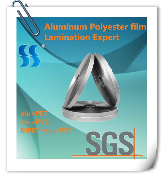 Aluminum Foil PET Mylar Tape for Flexible Air Duct Used in Ventilation