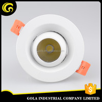 AU standard 7w top quality chrome led downlight