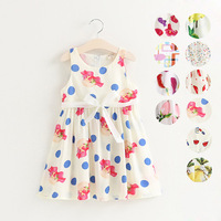 China Supplier Kids Wear Picture Of Children Casual Dress New Frock Designs Image