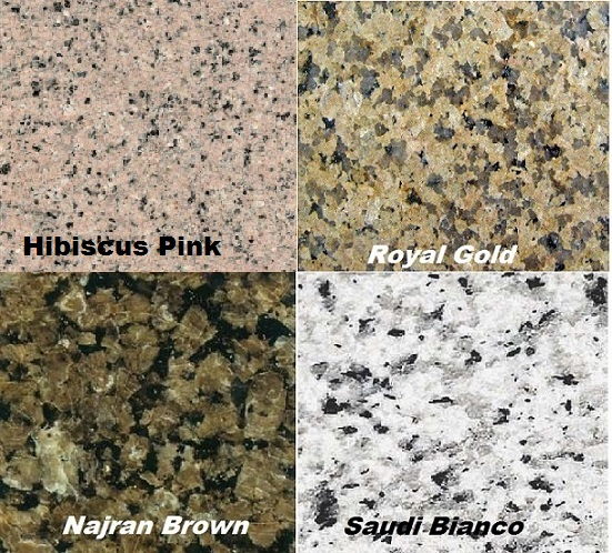 Saudi National Granite Export Quality