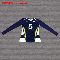 sublimation volleyball jersey sports wear
