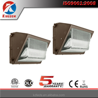 manufacture led light IP65 ETL DLC 80w 100w LED wall pack light / led wall pack