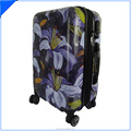 Pc Printed abs Travel Luggage Case bags