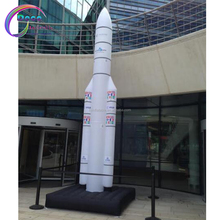 Hot sale inflatable rocket inflatable space shuttle rocket
