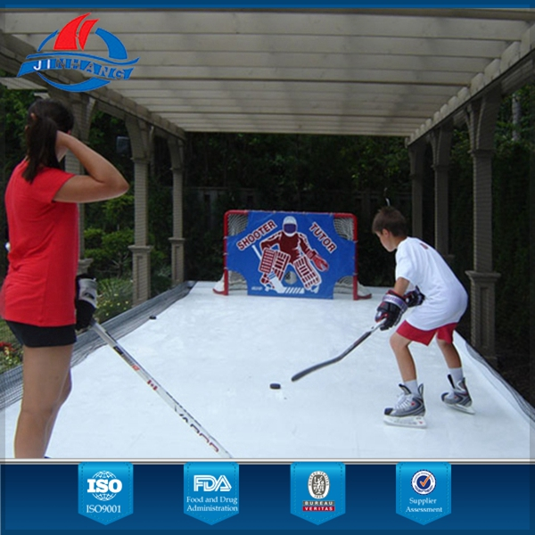China famous and cost-effective synthetic ice basement/backyard ice rinks/hockey rink boards manufacturer