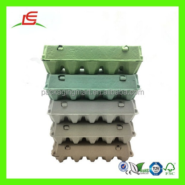 ZT344 Customized Printed Biodegradable Paper Box Egg Carton