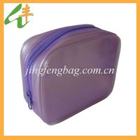 2014 fashion design lady clear pvc cosmetic bag
