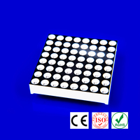 32*32mm 3mm led red green dual color 8x8 led module dispaly led dot matrix