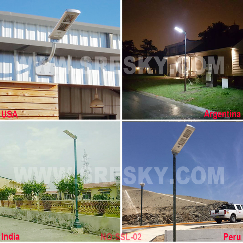 Target Market 10W Led Solar Energy Street Lights System