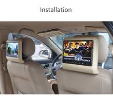 9 inch touch button headrest Car portable DVD player Car Seat-Back DVD Player