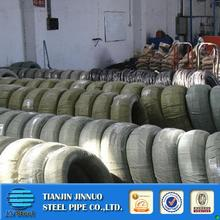 Multifunctional low carbon wire rod high tension strength oval galvanized steel wire