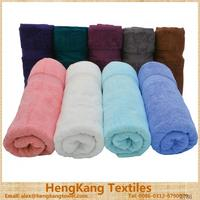 100% cotton custom most absorbent color safe towels