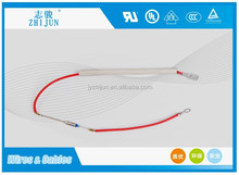 High voltage fuse link fuse wire