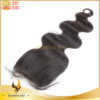 2013 new fashion high quality Qingdao factory directly brazilian hair weave frontal closures body wave
