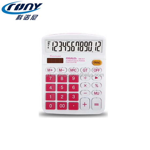 CRONY OEM pencil box with calculator solar factories