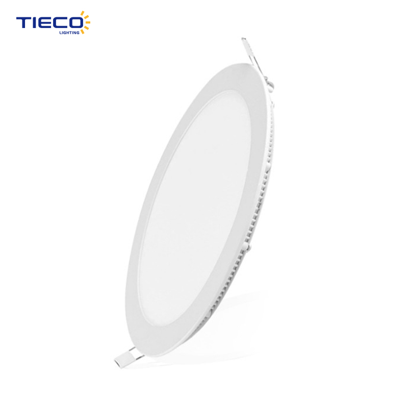 IP44 Indoor Small Round LED Flat Panel Lighting