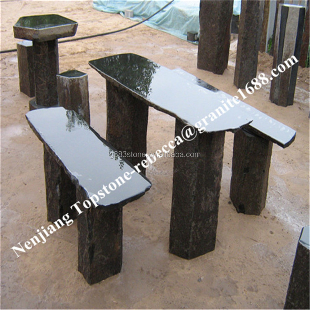 Granite stones for garden walkways