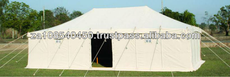 Disaster Tents | Canvas Tents