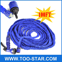 100Ft Expandable Garden Water Hose Flexible Watering Pipe With Spray Gun For Garden Irrigation Car Cleaning