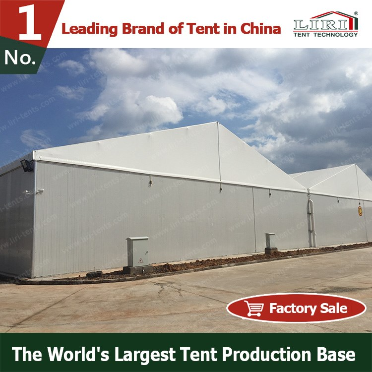 25X30m outdoor temporary storage tent for warehouse