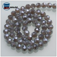 32 faceted round shape crystal beads jewelry beads making machine china supplier wholesale glass beads in bulk