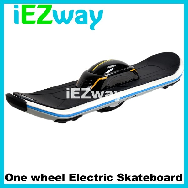 2016 iEZway newest products LED one wheel electric skate board