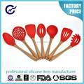 Custom Silicone kitchenware cooking tool sets kitchen utensils