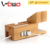 Bamboo Wood Watch Stand, with 3 USB Ports, Desktop Smart Charging Station for iPhone 7, 38mm/ 42mm for Apple Watch
