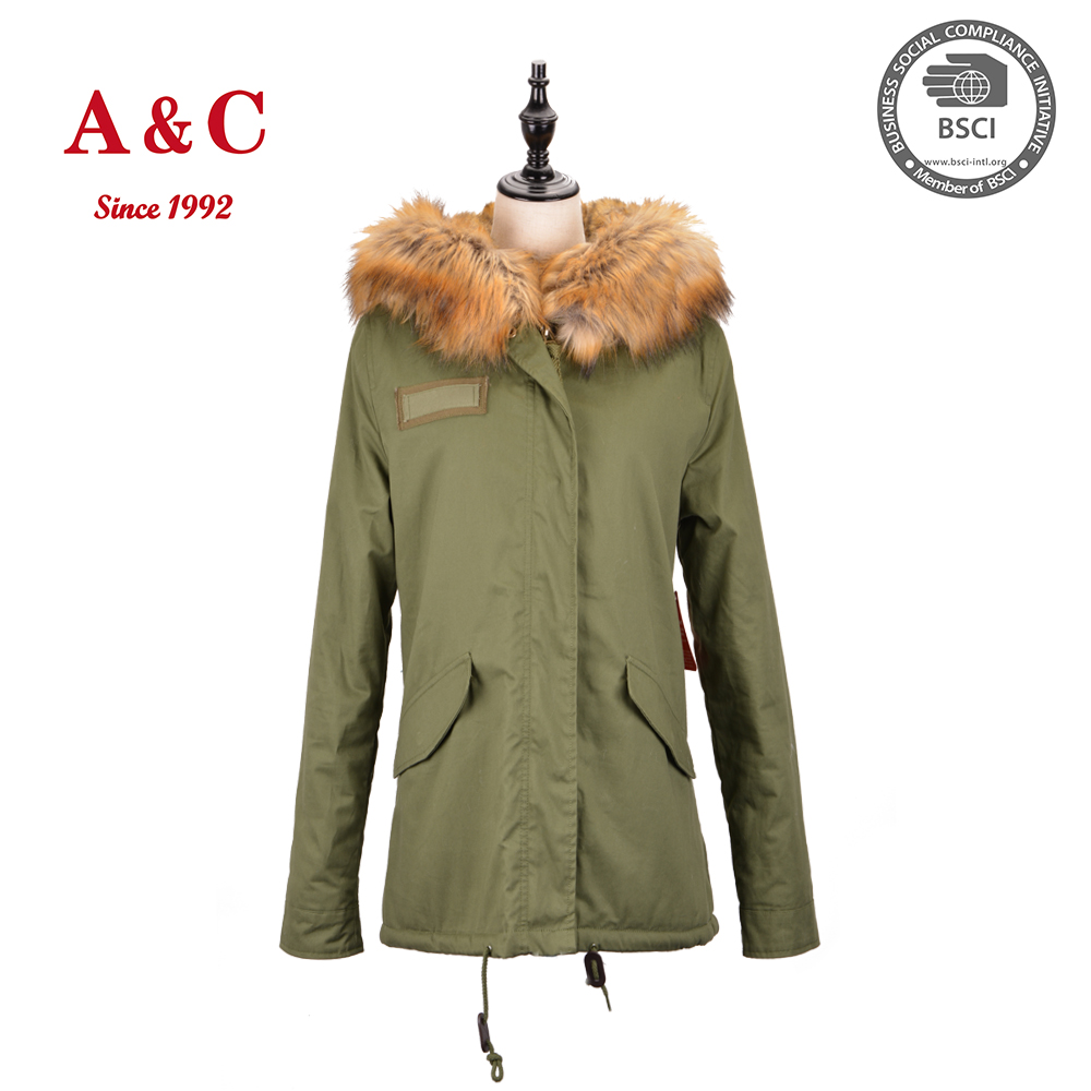 Latest Women Winter Long Faux Fur Coat