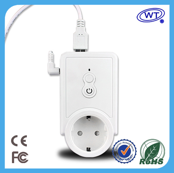 Wireless remote control intelligent Power Socket with USB