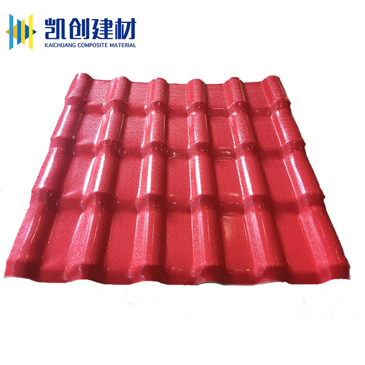 Wholesale synthetic plastic asa coated pvc lightweight roofing materials tile shingles