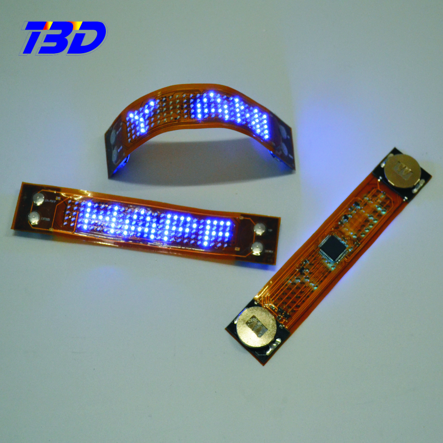 Image LED Light Up Shoe <strong>screen</strong> 8 Mode Shoestring moving for Chrismas Party Running flexible display