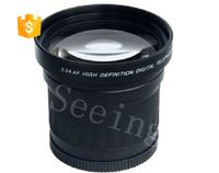 3.5X 58mm High Speed Super Telephoto Lens for Canon Rebel T4i T3i T3 T2i T2 T1i XT XTi XS XSi for Nikon for Sony