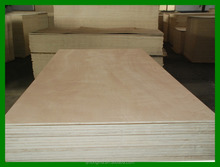 Okoume face and back with poplar core, BB/CC grade, good quality commercial ordinary plywood sheet