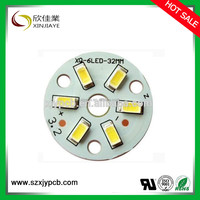 aluminium dimmable 5W 50mm driverless 5630 led bulb pcb board