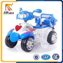 Ride on plastic toy motorbike four wheels electric motorbikes for kids
