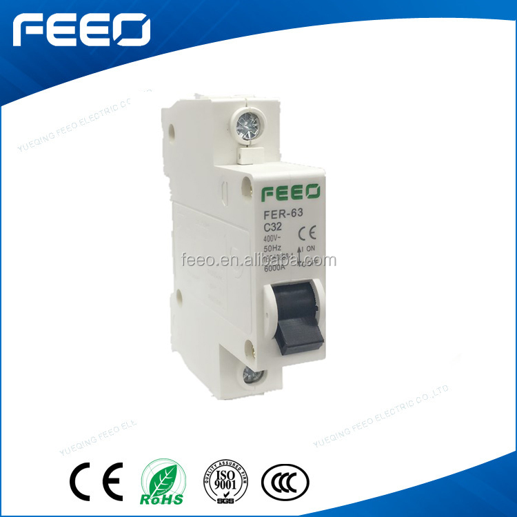 Hot type MCB 50/60HZ 40A Iran Market Mini circuit breaker