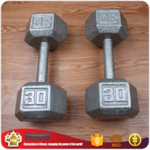 Wholesale gym equipment custom hex adjustable 5kg / 10kg / 15kg/ 30kg dumbbells set